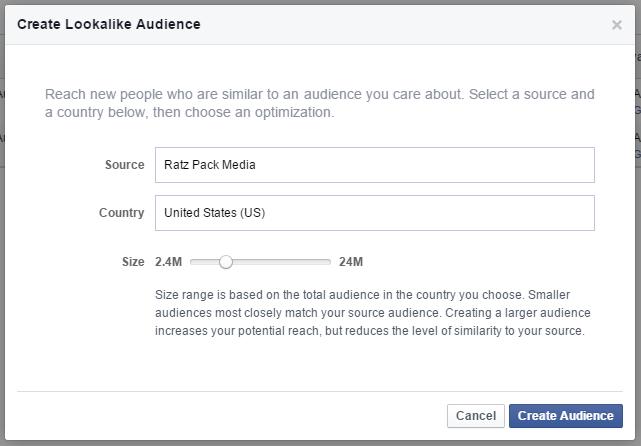 facebook lookalike