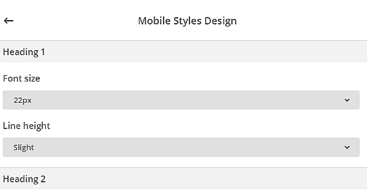 Email Mobile Design