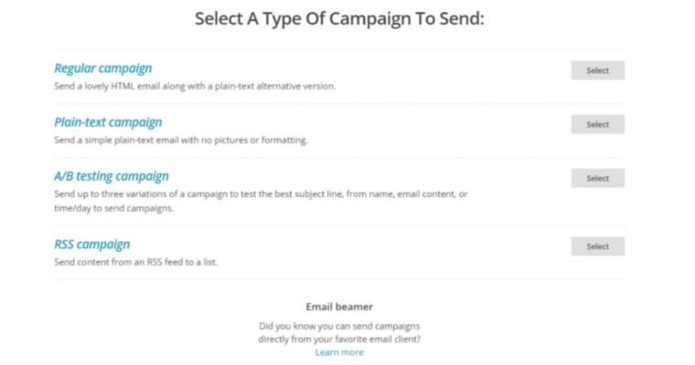 Mailchimp Campaigns (1)