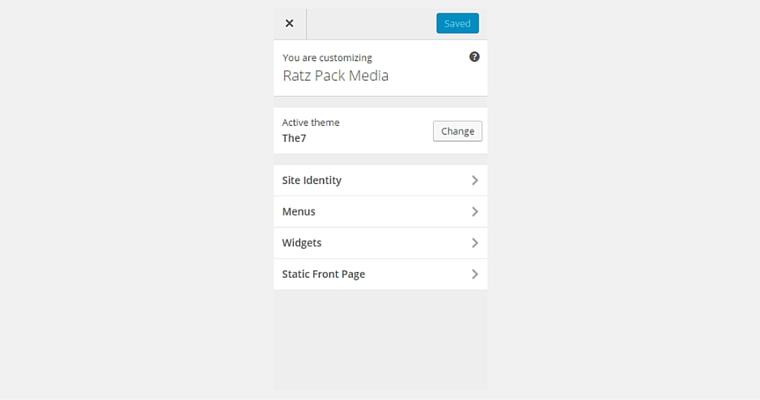 customize tab