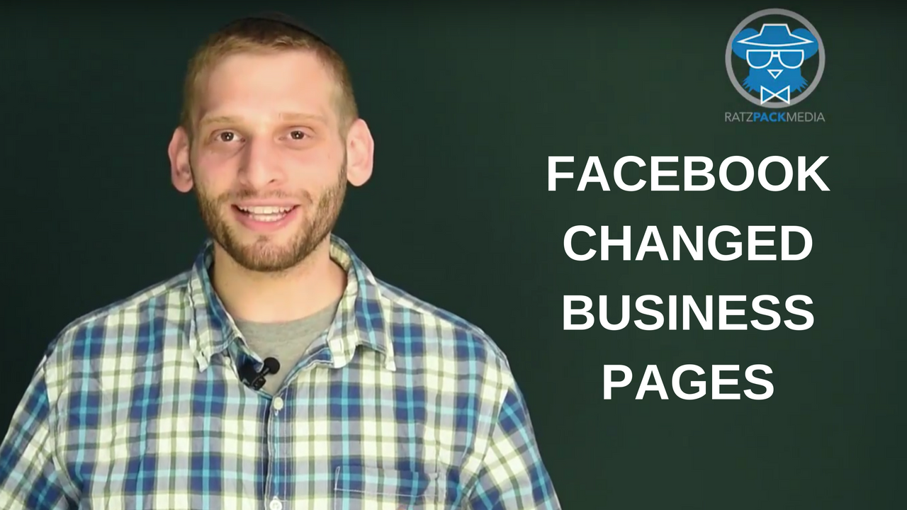 Facebook Changed Business Pages