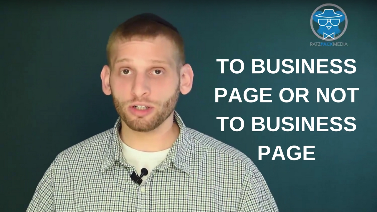 To Business Page or Not to Business Page