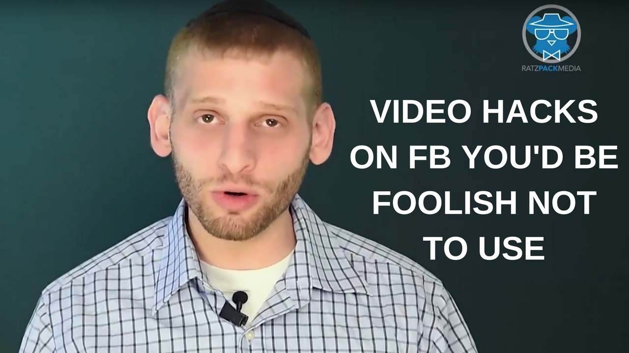 Two Video Features on FB You'd Be Foolish not to use