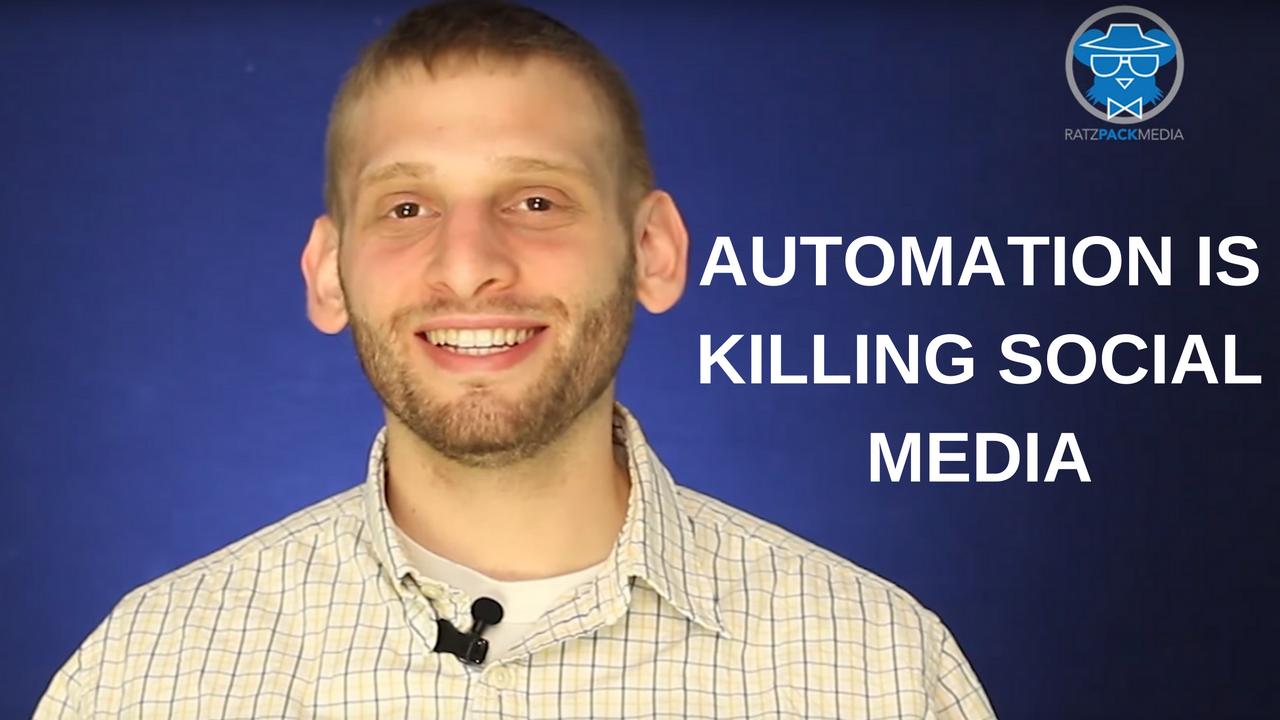 Automation is Killing Social Media
